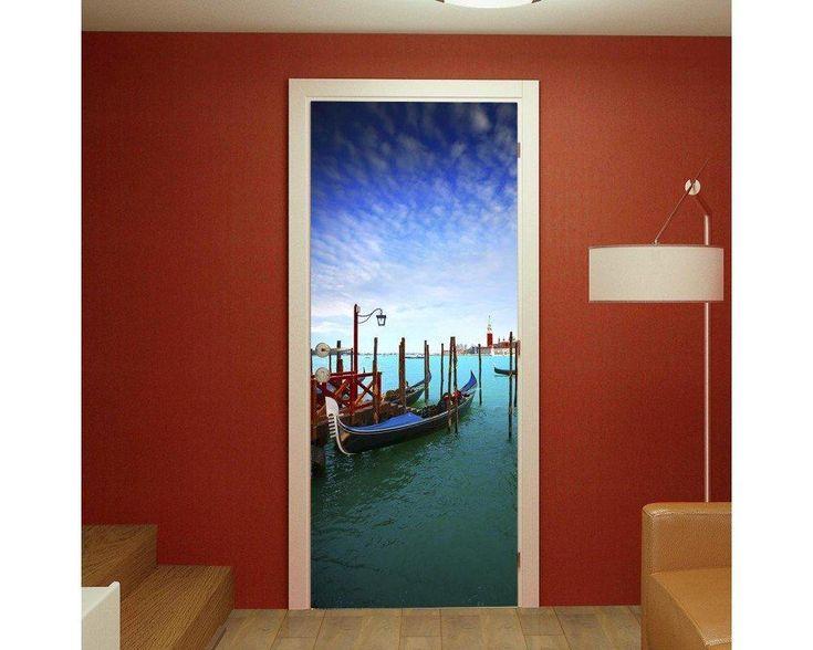 Venetian canal, αυτοκόλλητο πόρτας , δείτε το!