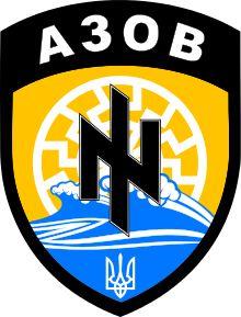 Black Sun sported by the Azov Battalion