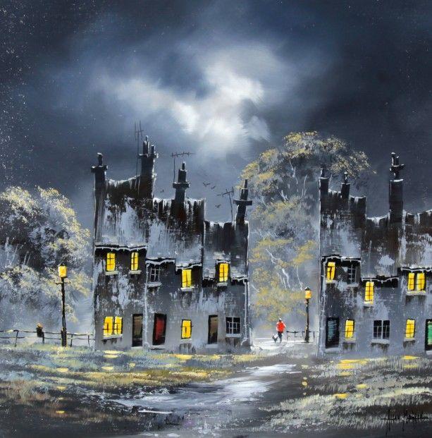 Allan Morgan, Window Light II, Oils 20x20   Scottish Contemporary Art