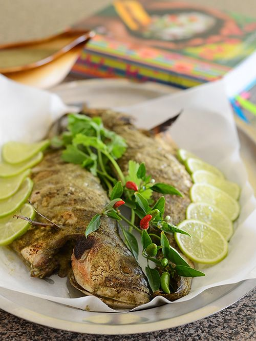 Samoan whole roasted fish with coconut sauce flavoursome for Whole foods fish sauce