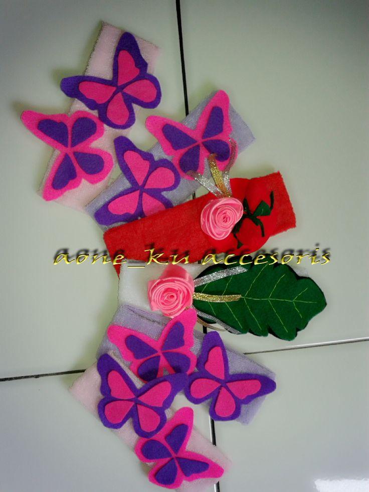 accesories bandana anak Rp.12.000