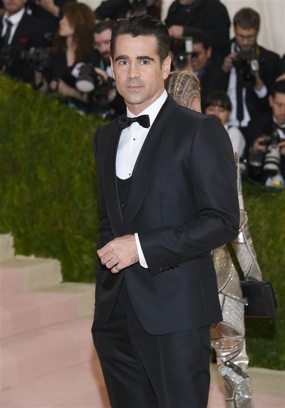 Colin Farrell attends the 'Manus x Machina: Fashion In An Age Of Technology' Costume Institute Gala at Metropolitan Museum of Art in New York City on May 2, 2016.