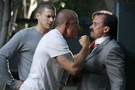 Michael, Lincoln, and tbag from prison break