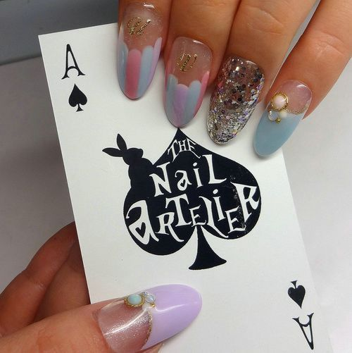 129 best nail art images on pinterest nail scissors cute nails japanese nail art artist prinsesfo Images