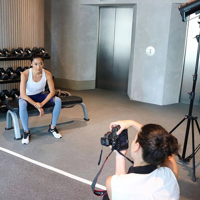 We hit the gym with @dacruza of @guavapass who shares her tips with us on how to stay fit this summer - link in bio.  Makeup and hair by: @onlocationglam Photographer: @michaela.giles #HKTatler #FitnessInspo #Fitspo #Gym #BTS  via HONG KONG TATLER MAGAZINE OFFICIAL INSTAGRAM - Celebrity  Fashion  Haute Couture  Advertising  Culture  Beauty  Editorial Photography  Magazine Covers  Supermodels  Runway Models