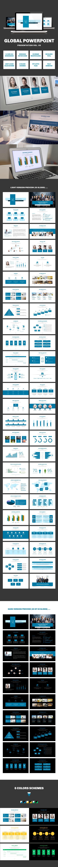 Global Presentation Template by Jumadi M. Nur, via Behance