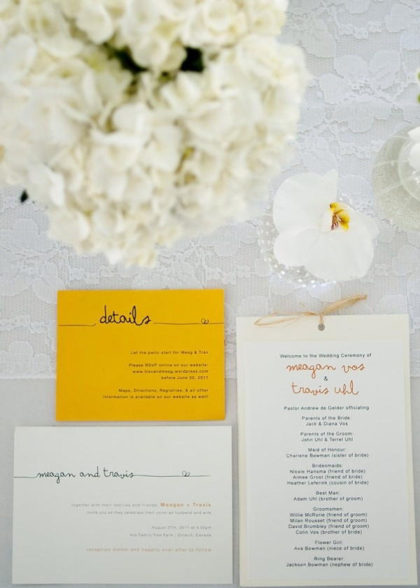 "I like the font and the knot. Cute how the ""knot"" is carried out in each of the cards!"