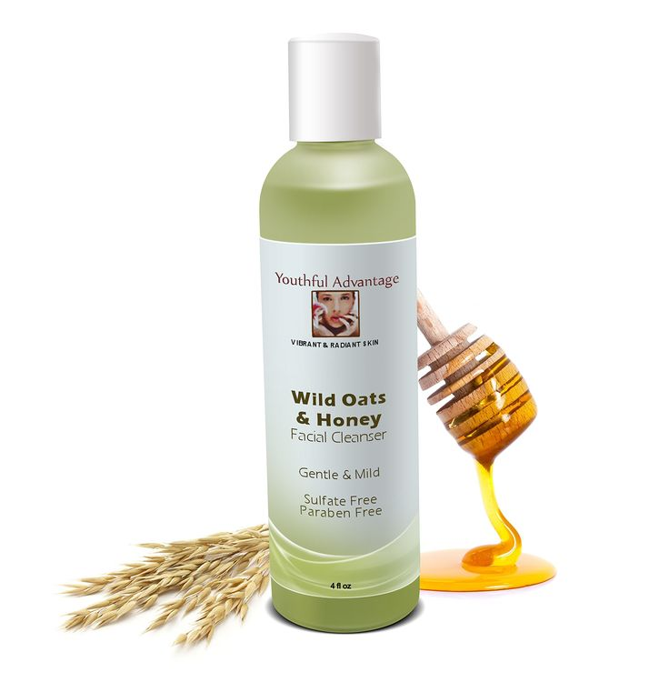 #1 Best Facial Cleanser For Women, Natural Acne Cleansers, Organic Vitamin C Anti Aging For Face & Vitamins for Skin, Men Moisturizers, Compare to bwc & skinmedica, Love It Or Return It Guaranteed!. Wild Oats + Honey is natural & organic. Gentle and mild perfect for sensitive skin, including those with Rosacea. Has humectant & antibacterial properties. Increases cell turnover. Paraben Free & Sulfate Free.