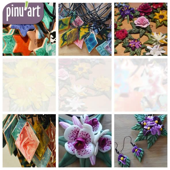 Pinu'art | Creazioni d'arte in pasta di sale, pasta di mais, terracotta | Regali, bomboniere, gadget