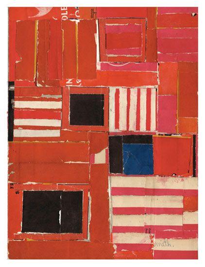 the textile blog: Lisa Hochstein: Paper Collage, Textile and Fine Artist