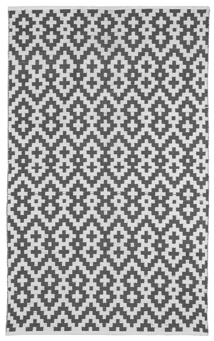 Samsara - Holzkohle- Grau & Weiß (60cm x 90cm): Amazon.de: Küche & Haushalt