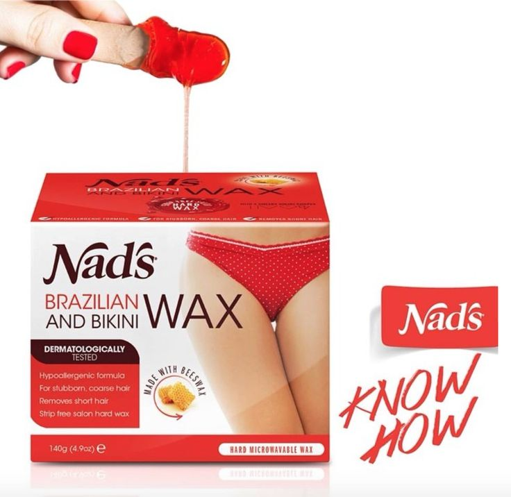 brazilian bikini wax at home by nads twist