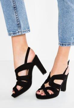 Anna Field - Højhælede sandaletter / Højhælede sandaler - black