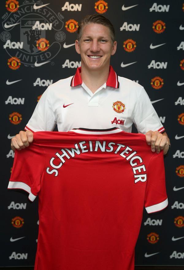 Bastian Schweinsteiger-Manchester United. It hurts