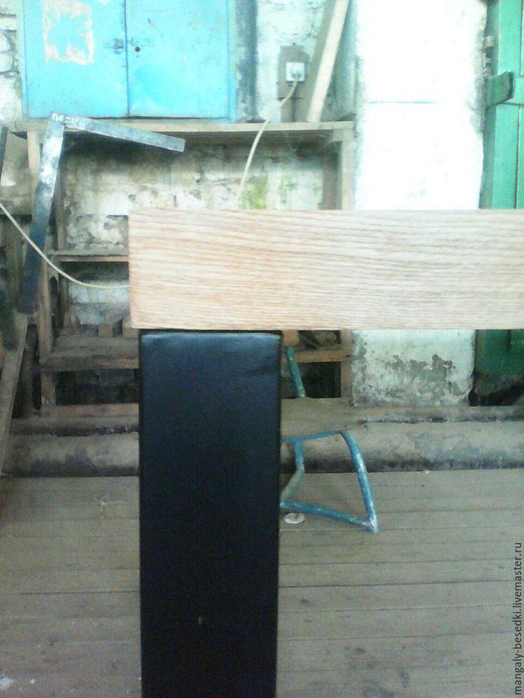 Купить Дубовый стол в стиле лофт. - стол, лофт, стол лофт, дубовый стол
