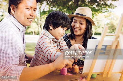 Stock Photo : Happy family