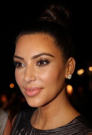 Kim Kardashian In Wonder Woman Costume