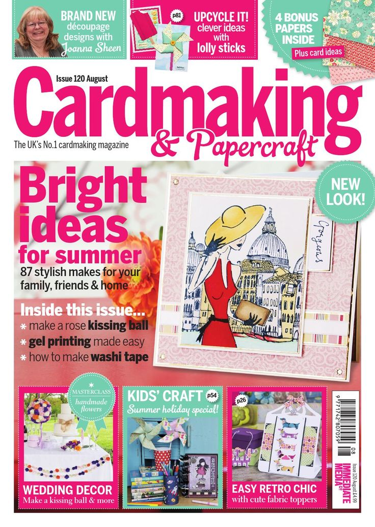 49+ Card making and paper craft magazine info