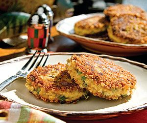 Creole Catfish Cakes    Place catfish fillets in a single layer in a large saucepan or Dutch oven and add just enough water to cover. Bring to a simmer over low heat. Cover and cook for 3 to 4 minutes. Remove from heat and let cool in stock.