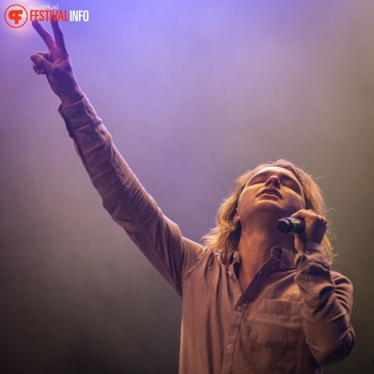 Foto Jett Rebel op Eurosonic Noorderslag 2016 - Zaterdag