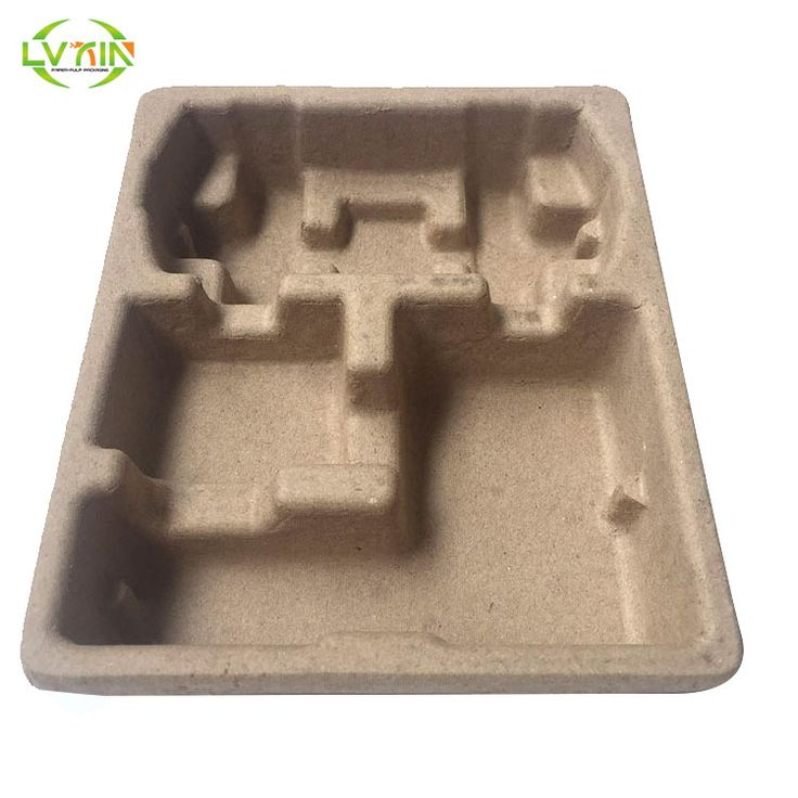 Shockproof protective packaging custom game machine pulp tray