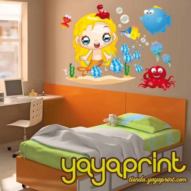 75 best vinilos ni o decorativos infantiles pared - Decoracion de habitaciones juveniles ...