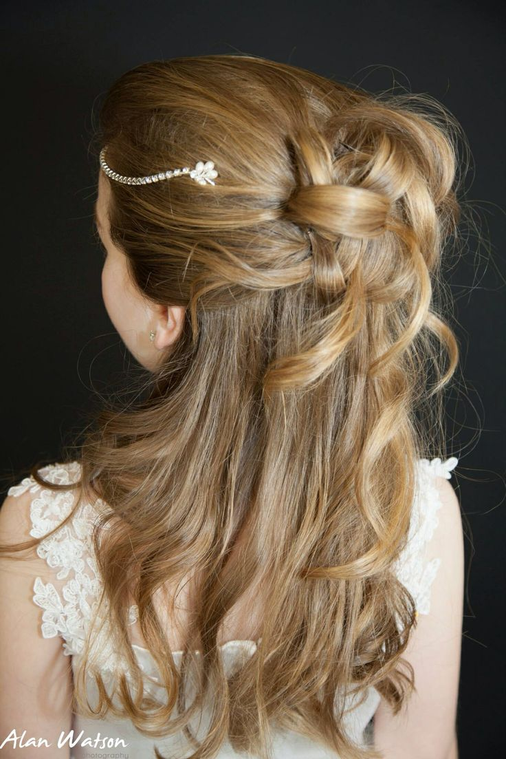 14 best first communion hairstyles images on pinterest | communion