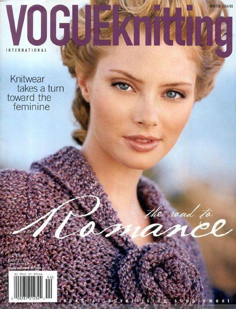 Vogue Knitting 2004 winter - 梨花带雨翻译 - 我的博客