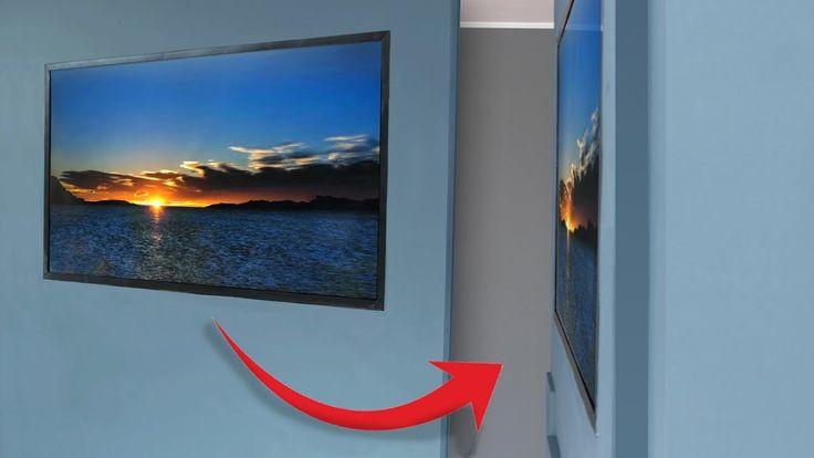 Building a homemade 'wallpaper TV'