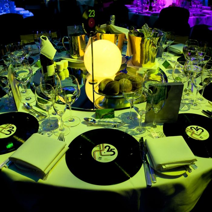 1980's Theme Gallery - Props, Centrepieces and Styling Elements | Phenomenon