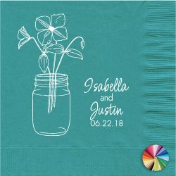 69 best Personalized Napkins images on Pinterest Gift bags