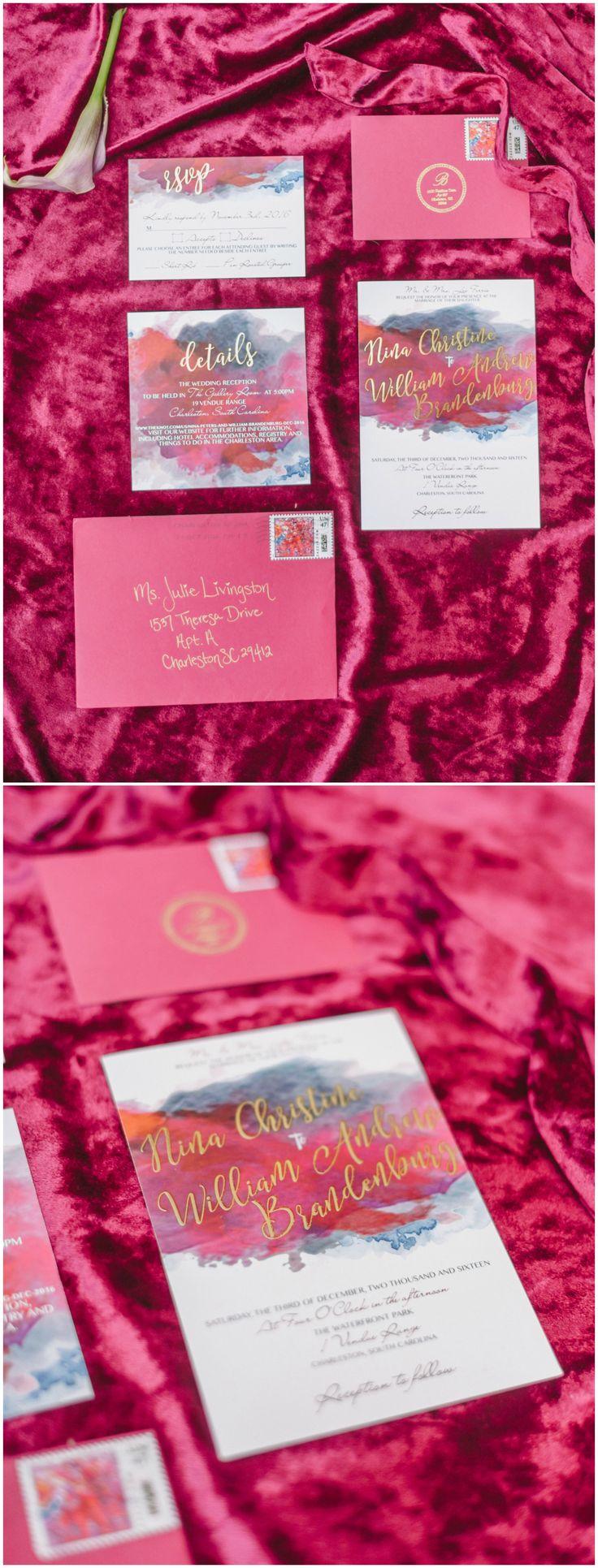 456 best Wedding Invitations images on Pinterest | Bridal ...