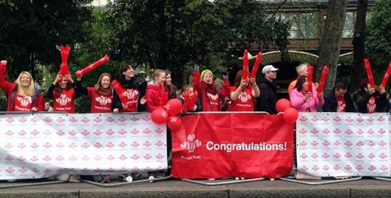We had a fab time cheering on our #TeamPrincesTrust London Marathon runners yesterday. Got what it takes for 2016?   Check out our website to guarantee your place! #Charity #Marathon #Health #Fitness #Run