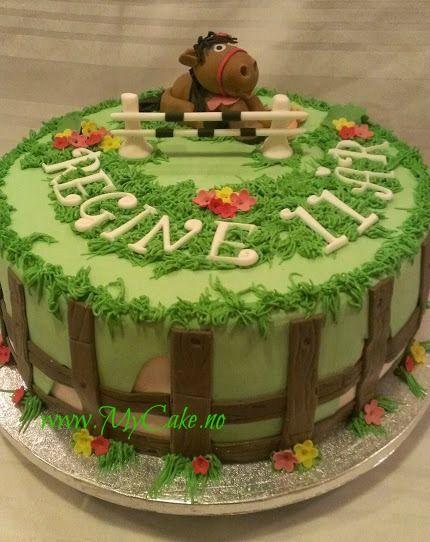Horse cake, birthday cake,  www.mycake.no https://www.facebook.com/pages/Mycake/518427724909847