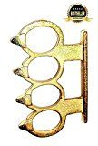 Desi Street Fighting & Boxing Tool / Four Fingers Ring / Finger Grip (GOLDEN)Nishdeals Sales Rank in Sports Fitness & Outdoors: 184 (previously unranked)(1)Buy: Rs. 199.00 (Visit the Movers & Shakers in Sports Fitness & Outdoors list for authoritative information on this product's current rank.)