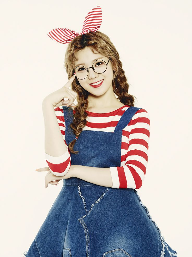 Lizzy (Orange Caramel) | official concept photo for 나처럼 해봐요 (My Copycat)