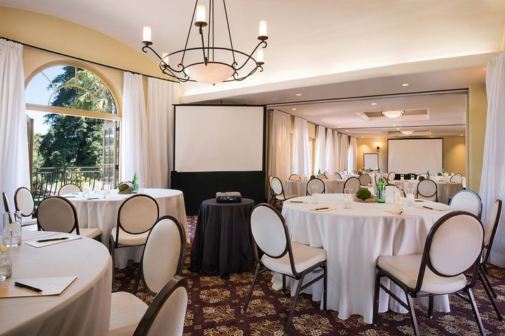 The spectacular special event and meeting spaces at the Hotel Los Gatos create the ideal setting for every occasion. #Hotels #MeetingSpace #Events #EventPlanning #SiliconValley