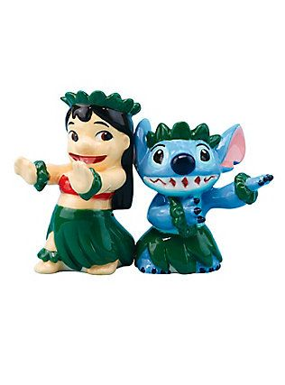 Disney Lilo & Stitch Salt & Pepper Shakers,
