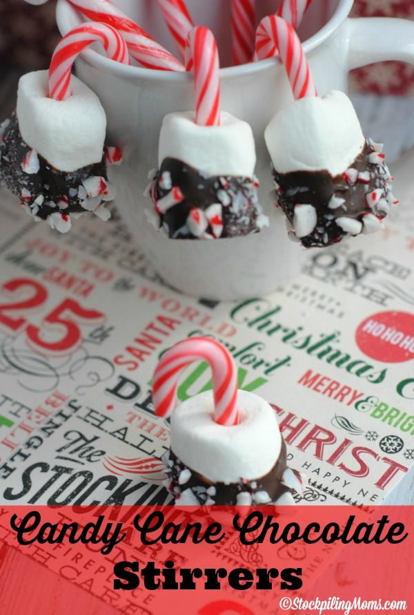 Peppermint Cocoa Dippers are so easy to make and the perfect addition to your Christmas parties!