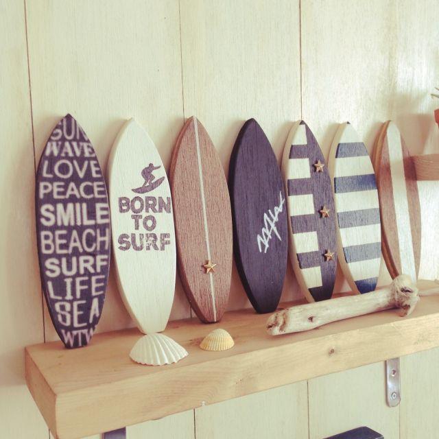 ハンドメイド/surf/カリフォルニアスタイル/WTW/BEACH STYLE/BEACH♥︎…などのインテリア実例 - 2015-03-23 04:31:07 | RoomClip(ルームクリップ)