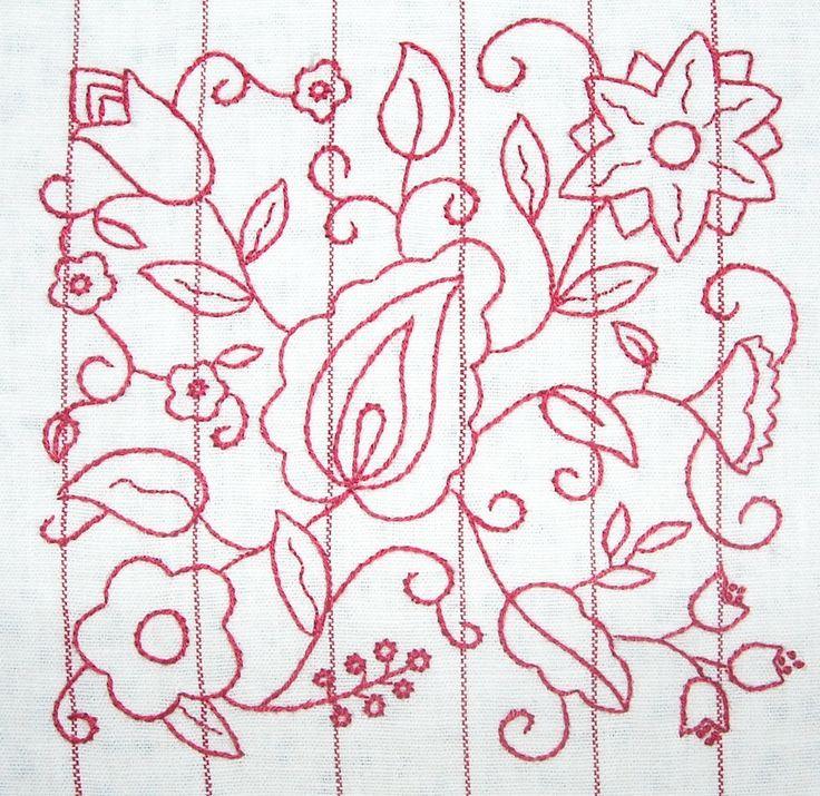 Hazel's Summer Wildflowers Block 5