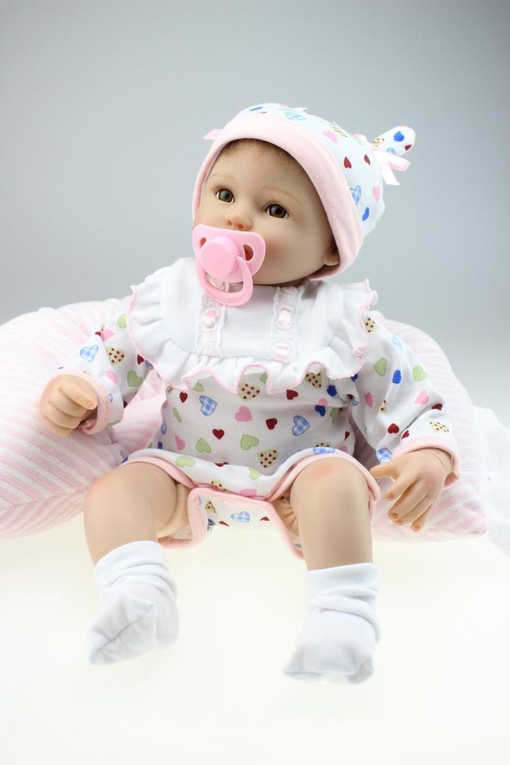 63.99$  Buy now - http://ali4wp.worldwells.pw/go.php?t=32739610026 - bebe reborn American Girls Dolls with Pink Dress Bebe Reborn Babies Dolls for Sale Educational Model Toys Kids Menina nerf Doll 63.99$