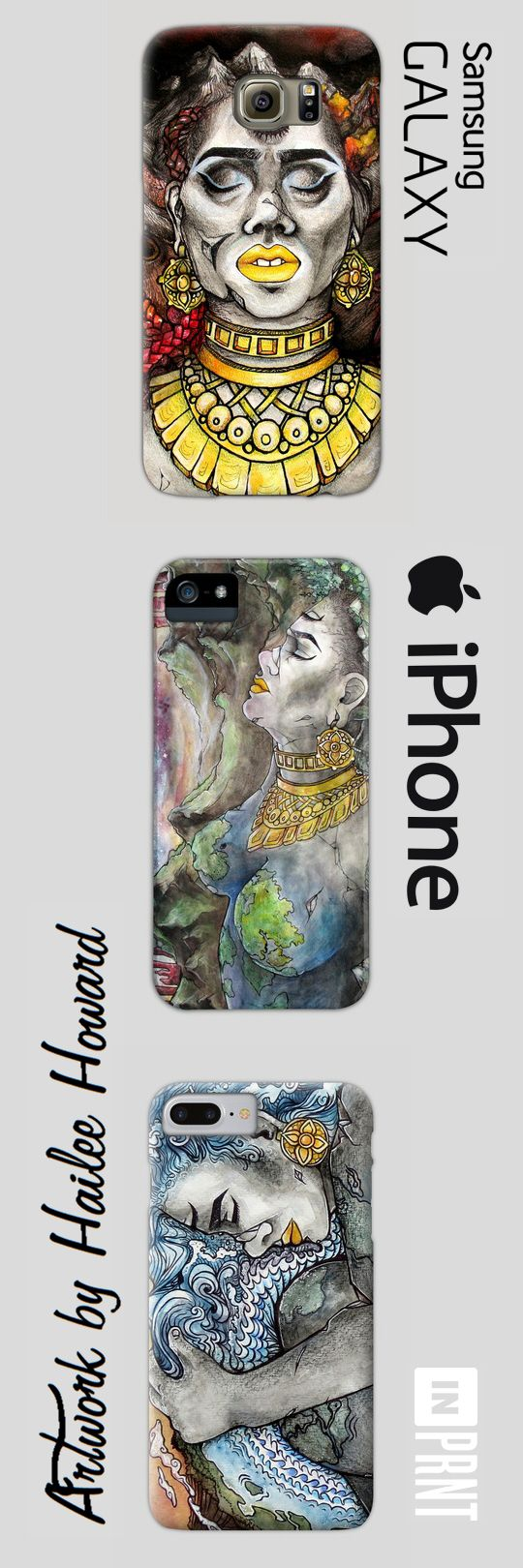 Beautifully illustrated phone cases, by Hailee Howard! Comes in sizes for the iPhone and Galaxy S series. Cases range from $25 to $35. Protect your phone from damage FASHIONABLY. Get yours now at https://www.inprnt.com/cases/haileehowardart/  #phones #iphone #samsung #galaxys $galaxys8 #iphone7 #iphonecases #phonecases #art #artwork #nature #beautiful #artist #watercolor #painting #supportheartist #cool #interesting #motherearth #vegan #vagen #earth