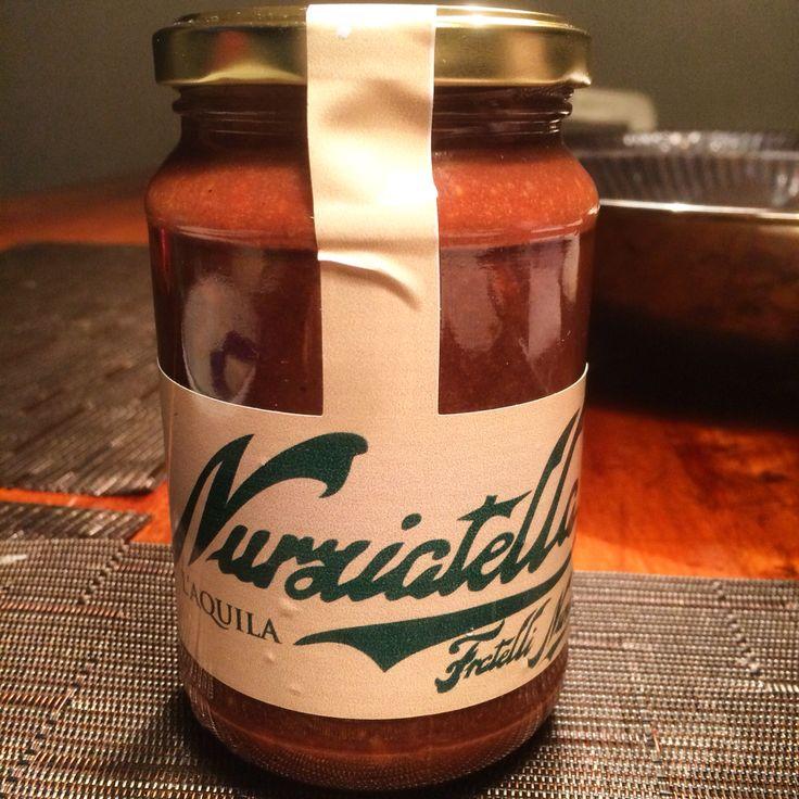 Nurziatella, la verdadera Nutella de L'Aquila, Italia. Sabor intenso, concentrado, peligrosamente adictivo.