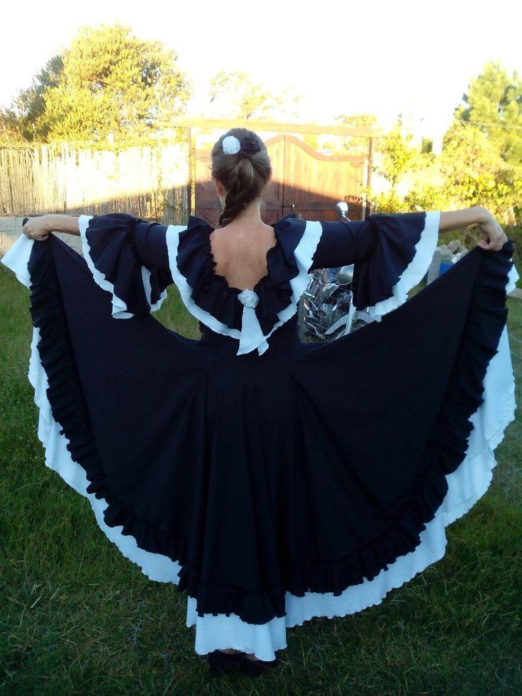 como hacer un vestido de folklore argentino - Buscar con Google