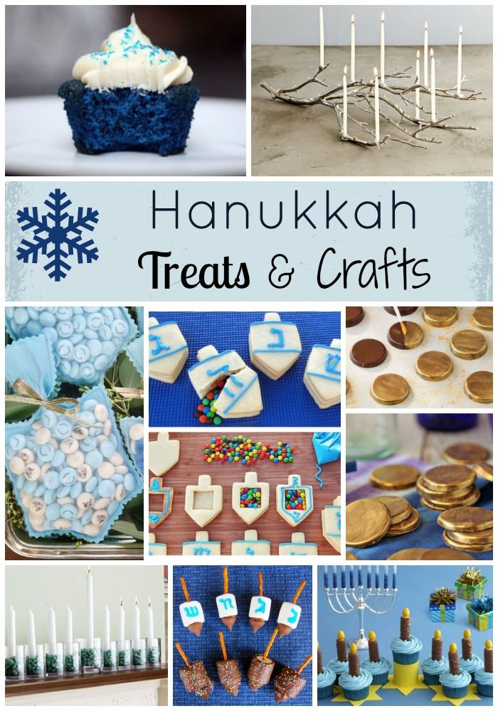 Hanukkah Treats & Craft Ideas!