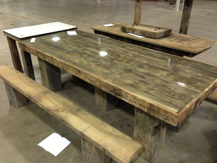 Old Barn Wood Picnic Table Picnic Tables Pinterest Old Barn Wood Old Barns And Picnic Tables