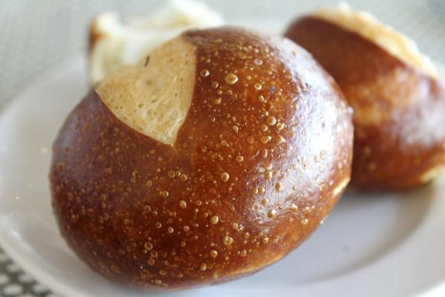 This pretzel rolls recipe is an easy recipe for making pretzel rolls at home, and it's vegan and dairy-free, too!