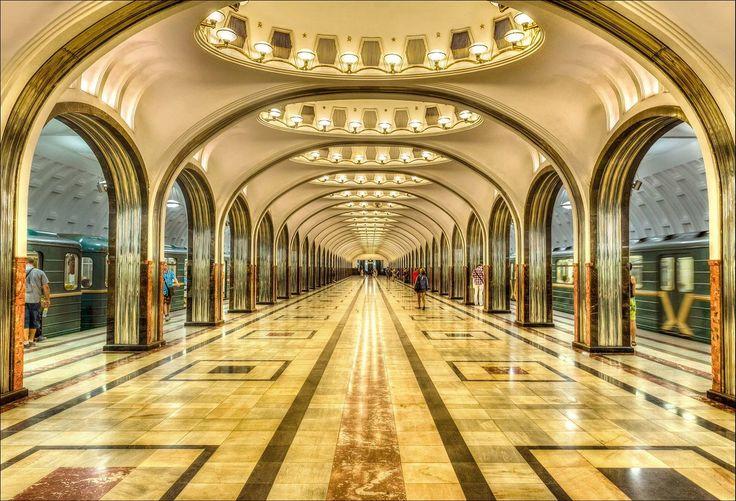 Московский метрополитен, Москва, Россия