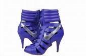 Blue Nike Heels